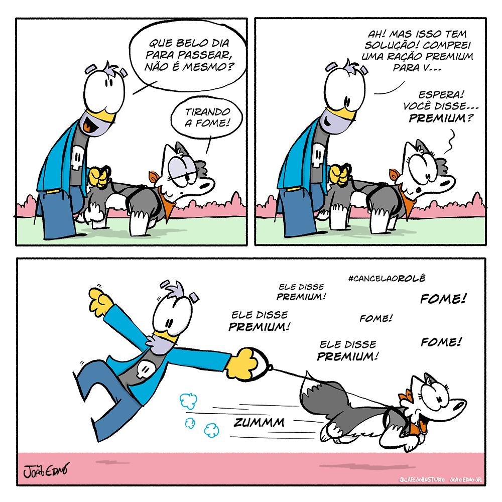 Tirinha Passeio com Pet