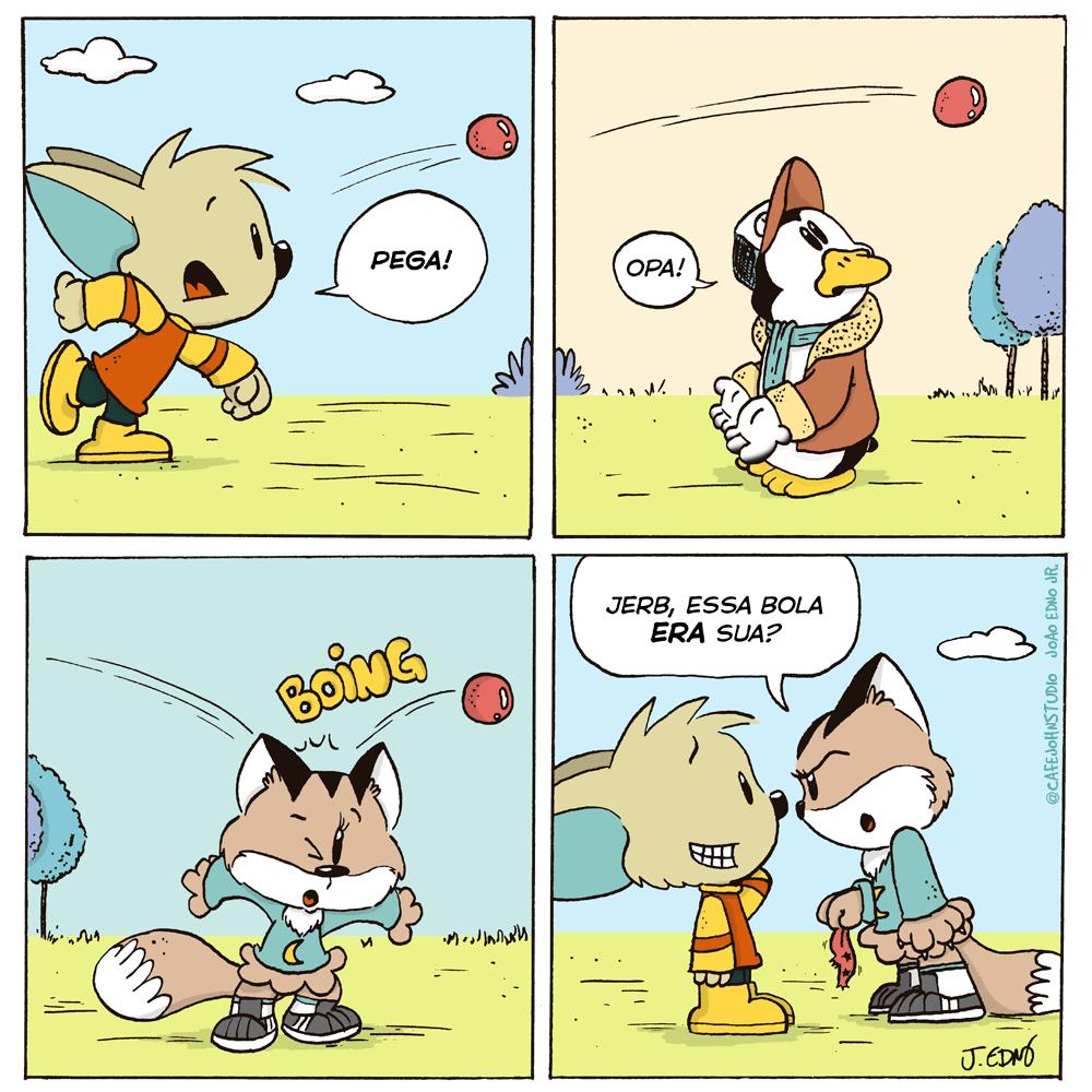 Tirinha Jerb em Amigos
